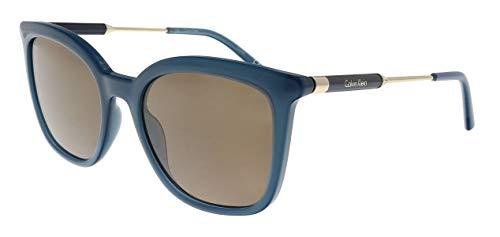 Calvin Klein CK3204S 431 Petrol Square Sunglasses for ()