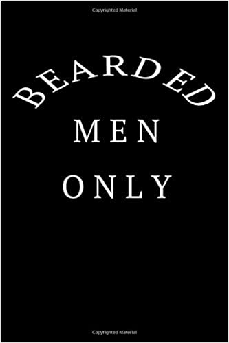 Excellent Bearded Men Only Awesome Journal For The Beard Love In Your Life Natural Hairstyles Runnerswayorg
