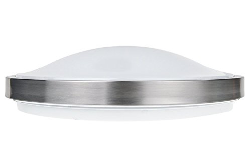 LB72116 LED Flush Mount Ceiling Lighting, Antique Brushed Nickel, 16-Inch 3000K Warm White, 1610 Lumens, Energy Star Dimmabel For Sale