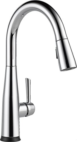 Delta Faucet Essa Single-Handle Touch Kitchen Sink Faucet with Pull Down Sprayer, Touch2O Technology and Magnetic Docking Spray Head, Chrome 9113T-DST ()