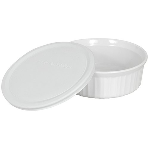 CorningWare French White 24-Ounce Round Dish by CorningWare