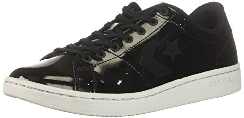 Converse Women's All-Court Low Top Sneaker, Black/White, 7.5 M US