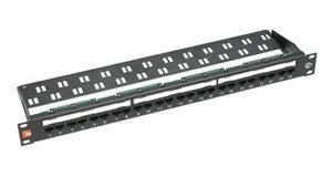 Cables UK Krone 24 Port Cat6 UTP ADC PCB PATCH PANEL 1U 250Mhz (Patch Panel Adc)