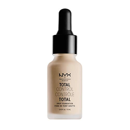 NYX PROFESSIONAL MAKEUP Total Control Drop Foundation - Light, With Pink Undertones