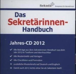 Das Sekretärinnen Handbuch Jahres Cd 2012 Cd Rom Alle Beiträge