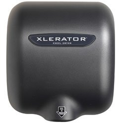 Excel XLGR, Xlerator XLGR Hand Dryer, Pro-grade Graphite Hand Dryer (ea) by Excel