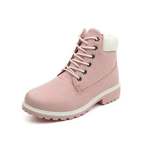 De Amateurs Hiver Martin Femmes Du Bon Pink Bois Air En Automne Bottes Neige Sikesong Mode Chaussures Plein Marché qUCggEw