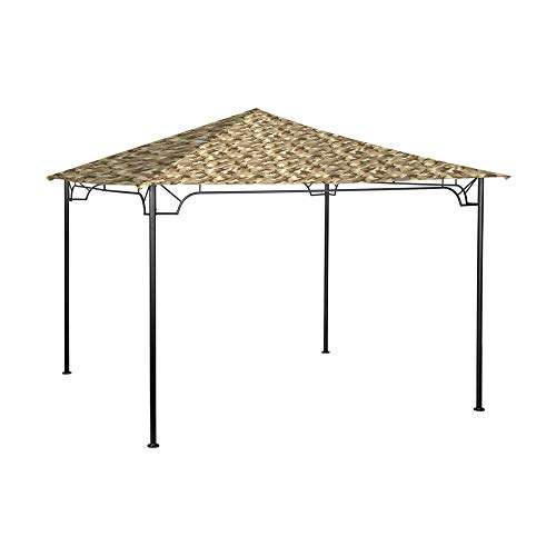 (Garden Winds Replacement Canopy for Living Accents 10 Foot Gazebo - Standard 350 - Camo Sand)