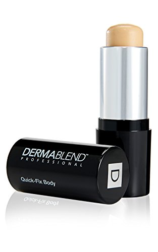 Dermablend Quick-Fix Body Makeup Full Coverage Foundation Stick, 20W Almond, 0.42 Oz. (Dermablend Beige Natural Foundation)