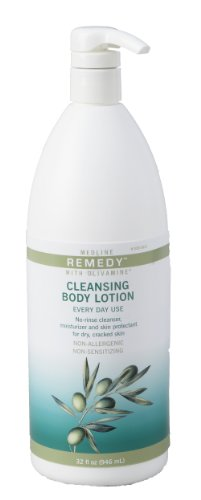 Remedy Olivamine Cleansing Body Lotion, 32 Fl OZ(946 ml)