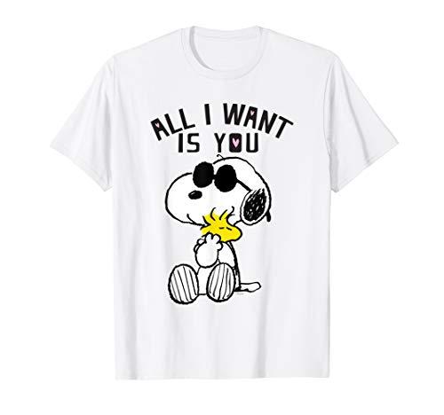 Peanuts Valentine All I Want T-shirt]()