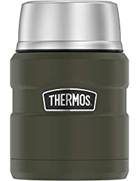 Thermos SK3000AGTRI4 King Food Jar with Folding Spoon, 16...
