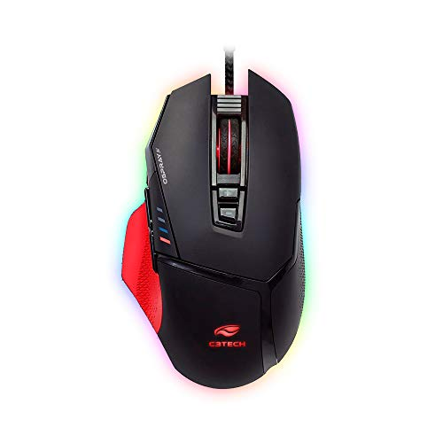 Mouse Gamer USB Mg-800Bk C3T, C3TECH, Mouses