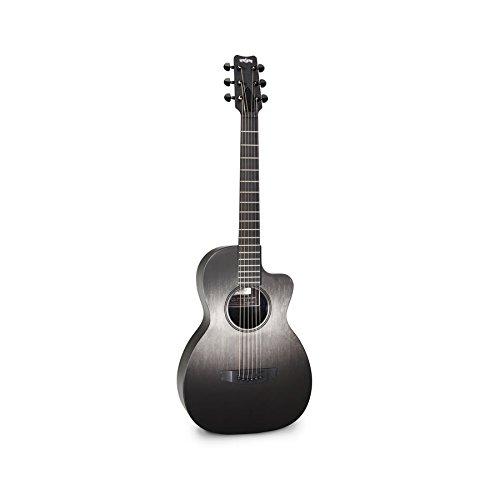 Rain Song CH-PA1100N Concert Series Parlor Carbon/Glass Acoustic Guitar - Carbon Fiber Acoustic