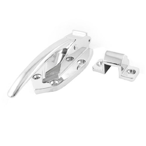 DealMux Polished Metal Pull Handle Latch 6.7 Long for Steamer Oven Door