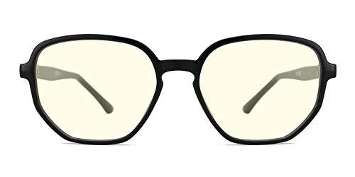 TIJN Blue Light Blocking Eyeglasses Light Weight Computer Gl