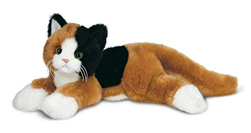 (Bearington Callie Plush Stuffed Animal Calico Cat, Kitten 15 inches)