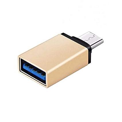 ETbotu USB 3.1 Tipo C Macho a USB 3.0 Tipo A Hembra Adaptador convertidor