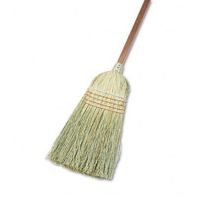 UNISAN Warehouse Broom, Yucca/Corn Fiber Bristles, 42 Inch Wood Handle, Natural (932Y)