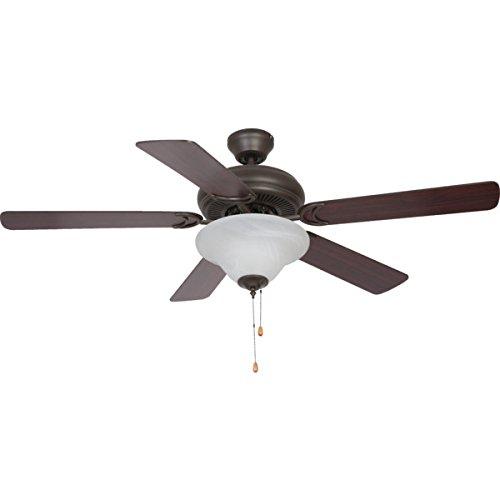 Seasons? 52'' Dual Mount Ceiling Fan Bronze Bowl Light by Seasons