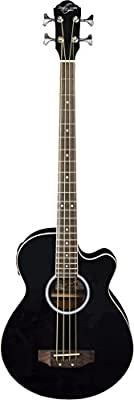 Oscar Schmidt OB100B-A-U 4-String Acoustic-Electric Bass