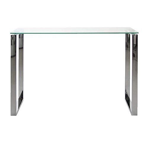 Amazon Brand - Movian Somes - Consola, 40 x 110 x 76cm, vidrio templado