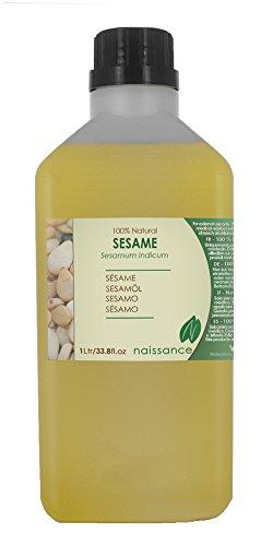 Sesamöl - 100% naturreines Öl - 1000ml