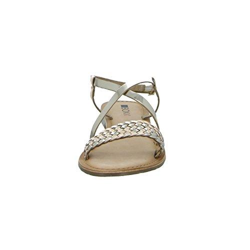 BOXX BOX04-M17 Damen Sandalette bis 30mm Absatz Gelb (Gold)