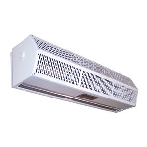Berner - SLC07-1042AC-G - Low Profile Air Curtain, 3 ft. 6 Max. Door Width, 7 ft. Max. Mount Ht., 54 dBA @ 10 Feet, 3300 fpm by Berner