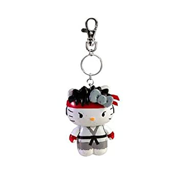 Sanrio X Street Fighter Ryu Hello Kitty Ver. Llavero Figura ...