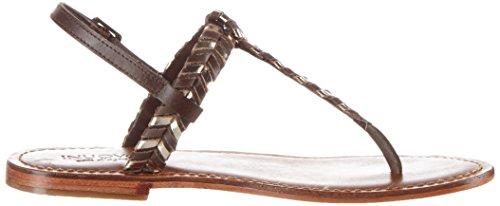 Inuovo 7719, Chanclas para Mujer Braun (Brown-Gold)