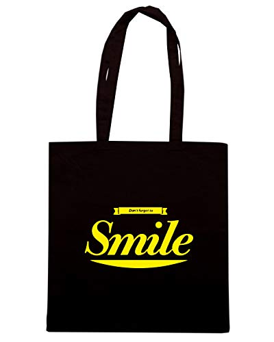 TO Nera SMILE Borsa Speed T DON Shopper Shirt CIT0065 FORGET ATggqOw