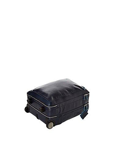 Piquadro Trolley blando Azul Noche 51 cm