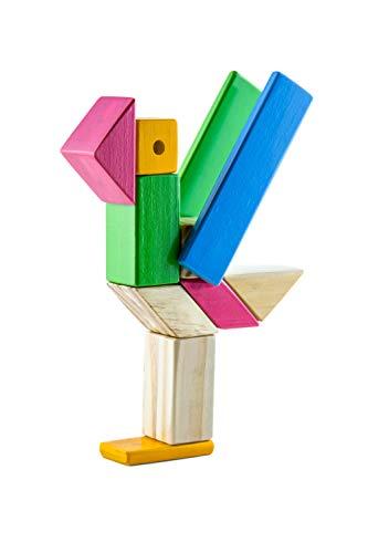 Blocos Magneticos - Kit 16 pecas - Ulla - Brinquedo Educativo