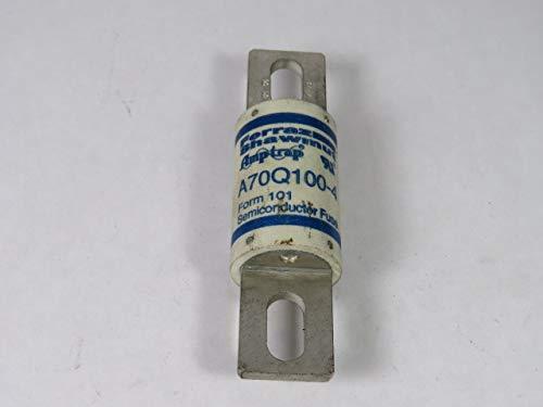 - 100A Fiberglass High Speed Semiconductor Fuse 700VAC/650DC