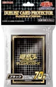 カードサプライ 遊戯王OCG デュエルモンスターズ デュエリストカードプロテクター ブラック202070枚入り ブラック2020