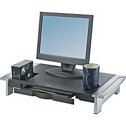 Fellowes Office Suites Premium Monitor Riser, Black (8031001) (Monitor Wave Riser)