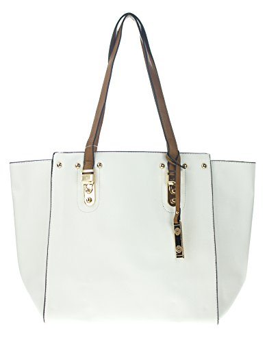 Canal Collection 2 in 1 Fashion Tote Handbag with Pouch by CANAL