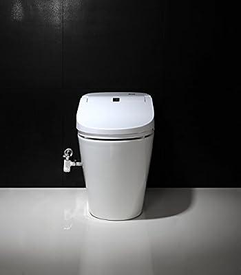 SYSINN E200 Auto-open,Auto-close,Washer Heating,Cushion Heating,Radar Detect Smart 1-Piece Toilet Set