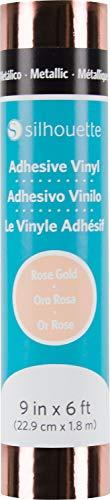 Silhouette of America Rose Gold Silhouette Permanent Metallic Vinyl 9