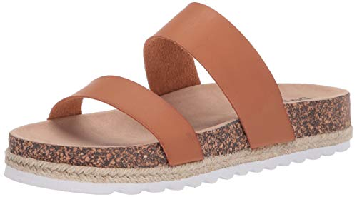 Dirty Laundry by Chinese Laundry Women's Double Play Sandal, Saddle Smooth, 6 M US