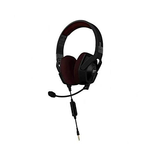 Fatal1ty by Monster FXM 100 Ultra High Performance Gaming Over-Ear Headphones, Matte Black