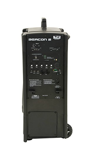 - Anchor Audio Beacon with built-in Bluetooth, AIR wireless transmitter & two dual wireless mic receivers, BEA2-XU4