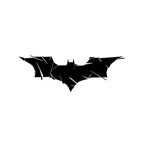 (Batman Evolution Bats Vinyl Die Cut Decal Sticker Bumper Motorcycle Decorating For Car Window Glass Truck Bumper Camping Laptop Mac (7
