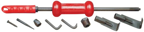 TEKTON 5632 5-lb. Slide Hammer Dent Puller Set, 9-Piece by TEKTON
