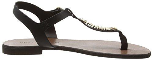CAFèNOIR Gp - Sandalias de dedo Mujer Negro - Schwarz (010  NERO)