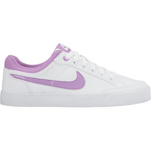new style ad28c 58f29 Nike Capri 3 LTR (GS), Zapatillas de Tenis para Niñas, BlancoRosa, 35.5  EU Amazon.es Zapatos y complementos