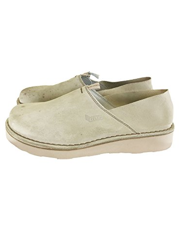 Gas Vintage Suede Slippers Light Khaki (Item With Flaws) 43