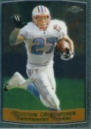1999 Topps Chrome Football Card #46 Eddie George (1999 Topps Chrome Football)