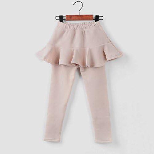 Tokkids - leggings pantalones con falda de invierno para niñas ...